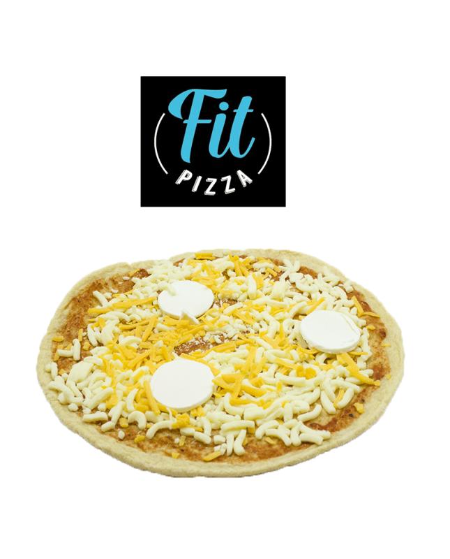 PIZZA PROTEICA 3 QUESOS FIT PIZZA