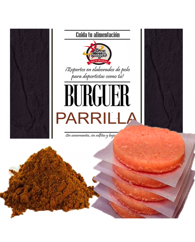 FITNESS BURGER parrilla